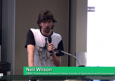 Dr Neil Wilson talk on Soil Biology