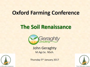 The Soil Renaissance