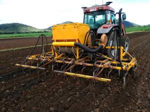Cover Cropping planter J & R Prior