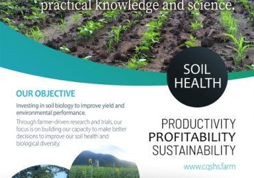 CQSHS Objective flyer to improve soil health